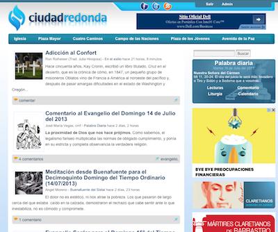 Ciudad redonda cumple 15 a os misioneros claretianos for Ciudad redonda calendario